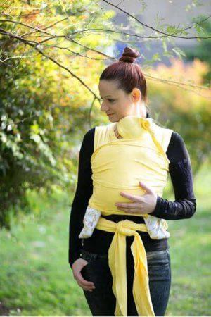Neko Esnek Wrap Sling - Sarı