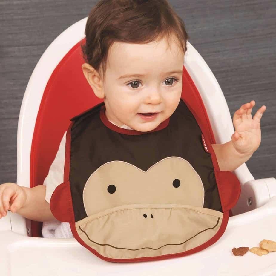 Skip Hop Mama Önlüğü(Maymun)