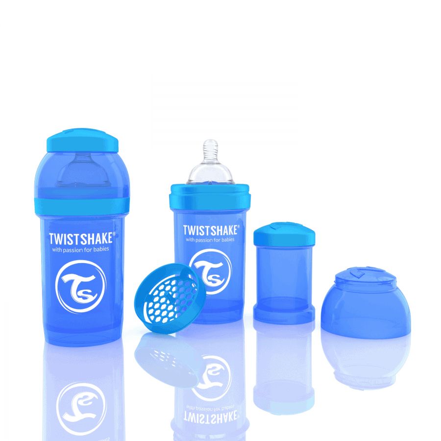 TwistShake Anti-Colic Mavi Biberon (180 ml)