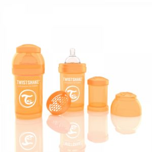 Twistshake Biberon Turuncu 180 ml