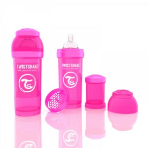 Twistshake Biberon Pembe 260 ml