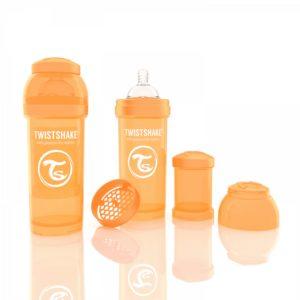 Twistshake biberon turuncu 260 ml
