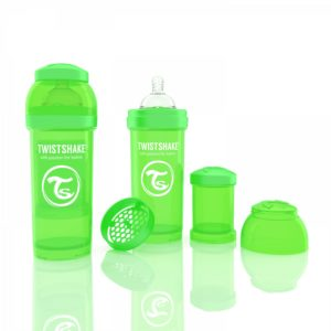 TwistShake biberon yeşil 260 ml