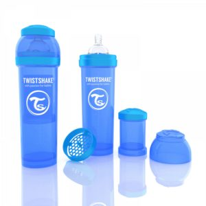 Twistshake biberon mavi 330 ml