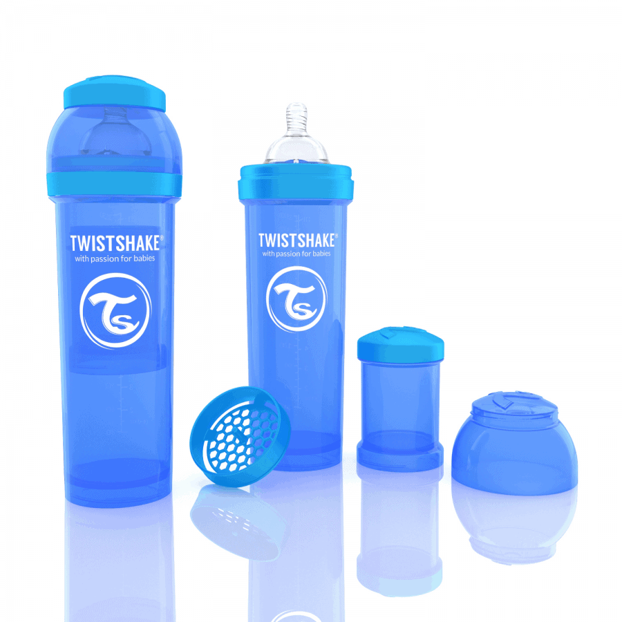 TwistShake Anti-Colic Mavi Biberon (330 ml)