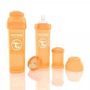 Twistshake Biberon Turuncu330 ml