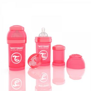 Twistshake Biberon Şeftali 180 ml