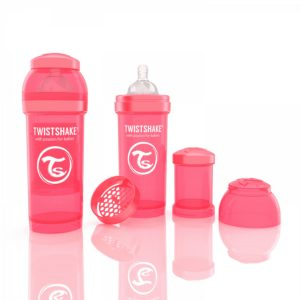 Twistshake Biberon Şeftali 260 ml