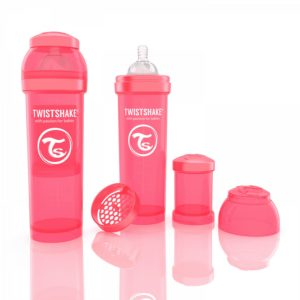Twistshake Biberon Şeftali 330 ml