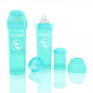 Twistshake Biberon Turkuaz 330 ml
