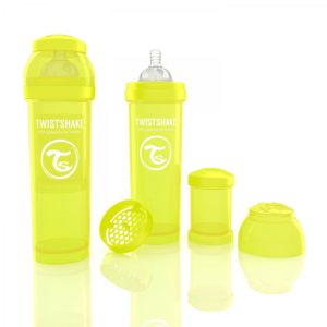 Twistshake Biberon Sarı 330 ml
