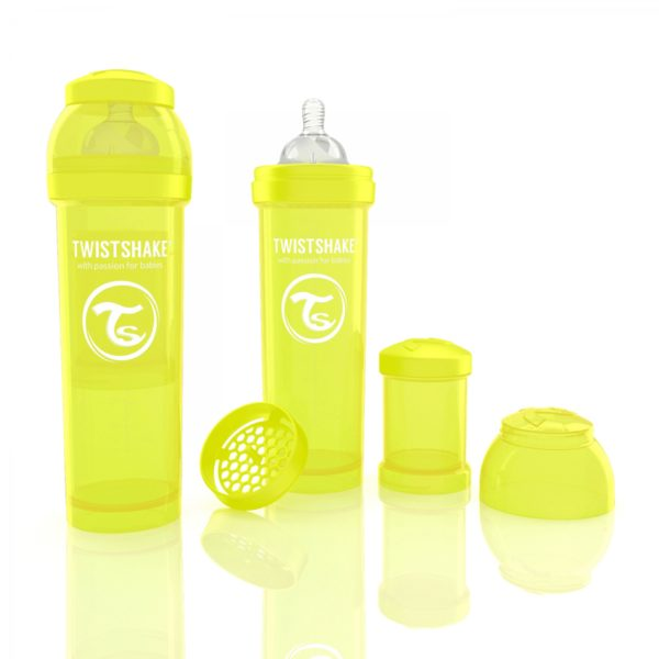 Twistshake Biberon Sarı330 ml