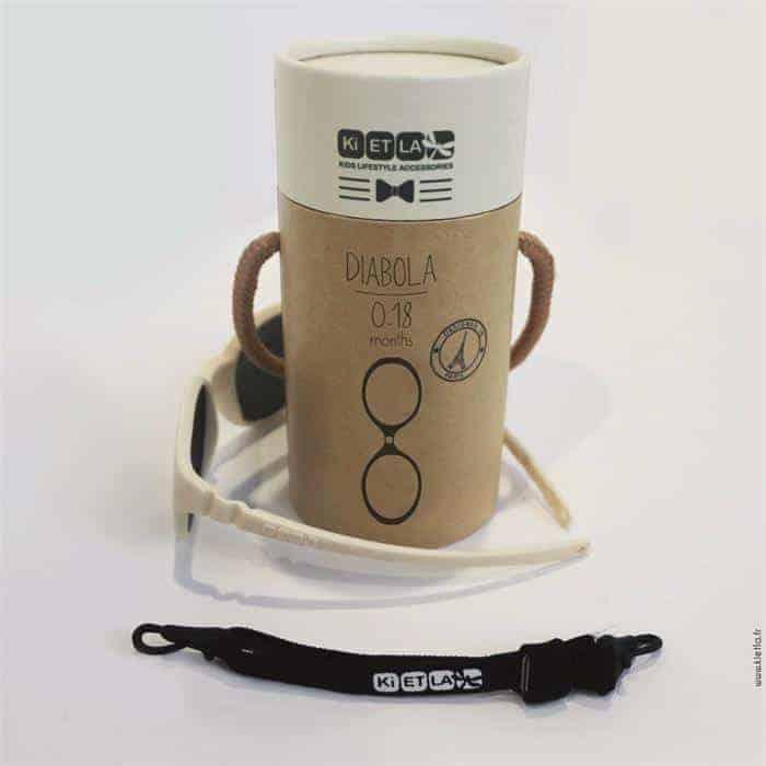 Kietla Diabola Çocuk Gözlüğü (0 - 18 Ay) Cream