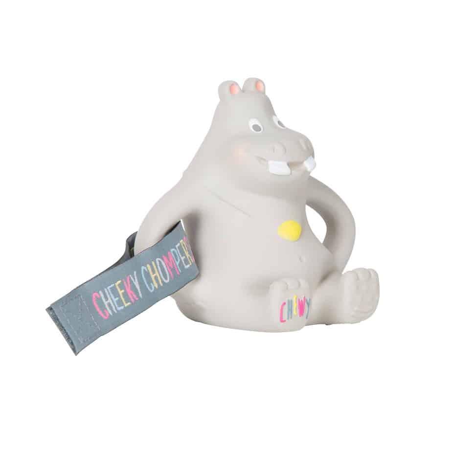 Cheeky Chompers Bebek İçin Hippo Dişlik (0 Ay+)