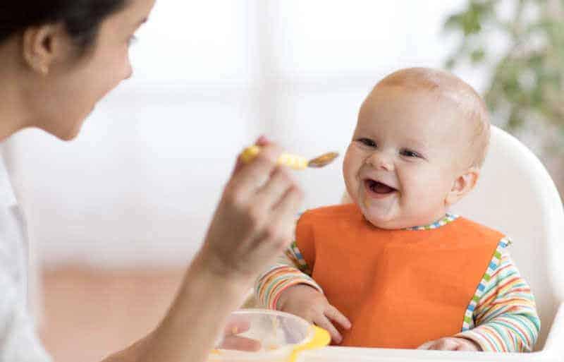 7 aylık bebek beslenmesi