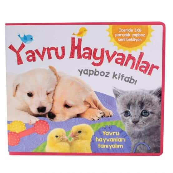 Puzzle Kitaplar-Yavru Hayvanlar