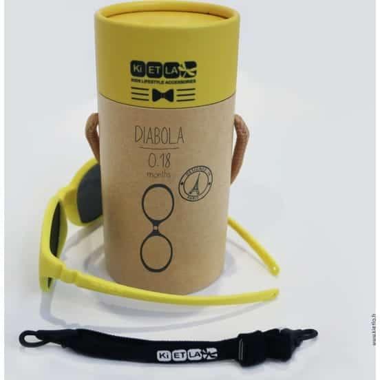 Kietla Diabola Çocuk Gözlüğü (0 - 18 Ay) Yellow