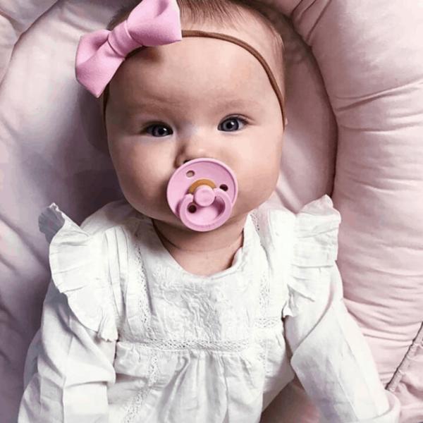 BIBS Colour Emzik - Baby Pink 0-6 Ay