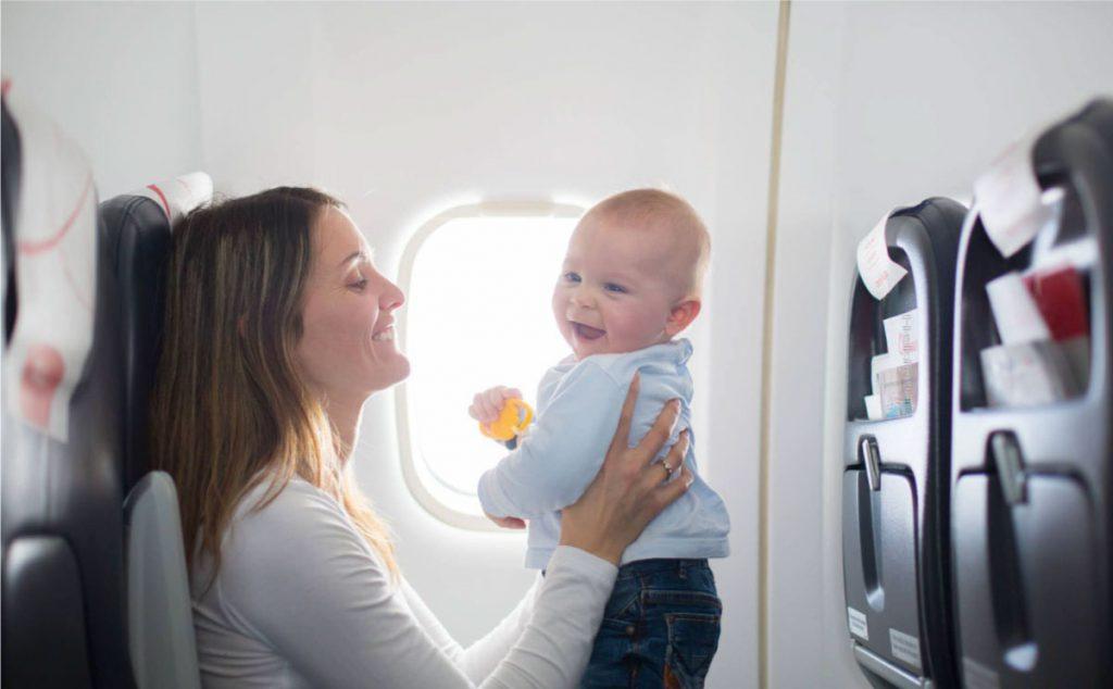Bebekler Uçağa Binebilir mi