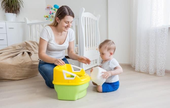 Bebeklerde Tuvalet Eğitimi Nasıl Olmalı