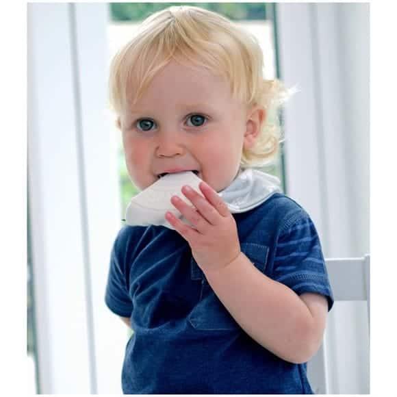 Cheeky Chompers Diş Kaşıyıcılı Fular Önlük (Chewy & Co)