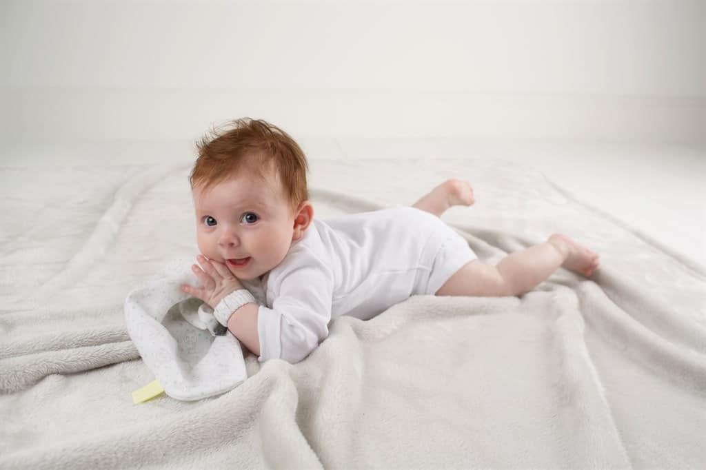 Cheeky Chompers Muslin Comforter (Cheeky Hippo)