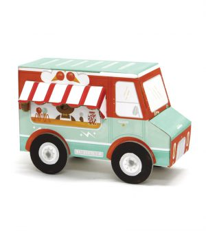 Krooom 3D Fold my Car (Dondurma Arabası)