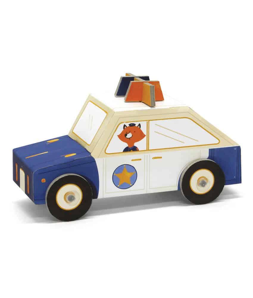 Krooom 3D Fold my Car (Polis Arabası)