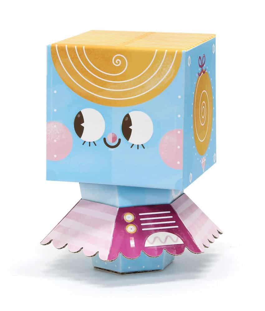 Krooom 3D Fold my Robot (Balerin)