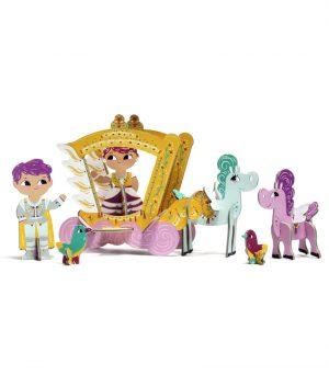 Krooom 3D Oyun Seti (Prenses İris)
