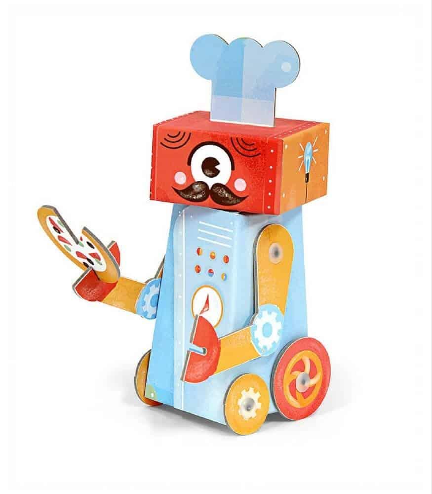 Krooom 3D Fold my Robot (Aşçı)