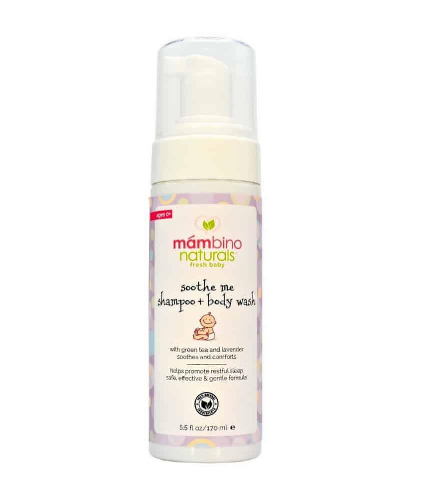 Mambino Organics Sooth Me Bebek & Çocuk Şampuanı (Yeşil Çay & Lavanta)
