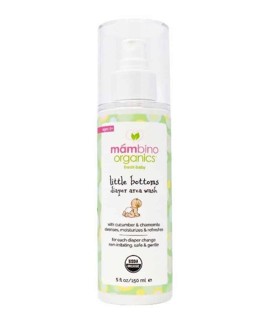 Mambino Organics Pişik Bölgesi Temizleme Spreyi
