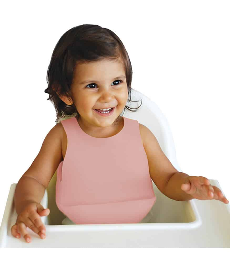 OiOi Silikon Mama Önlüğü (Pembe)