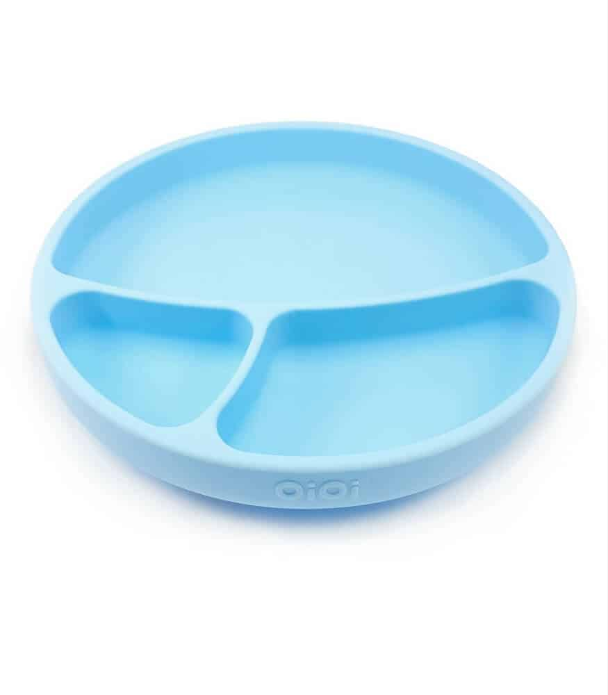OiOi Vakum Tabanlı Silikon Tabak (Mavi)