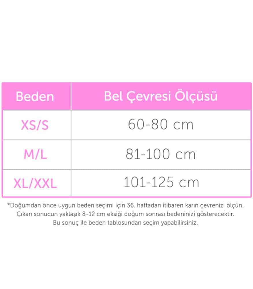 Owli Doğum Sonrası İnceltici Korse Ten (XL/XXL)