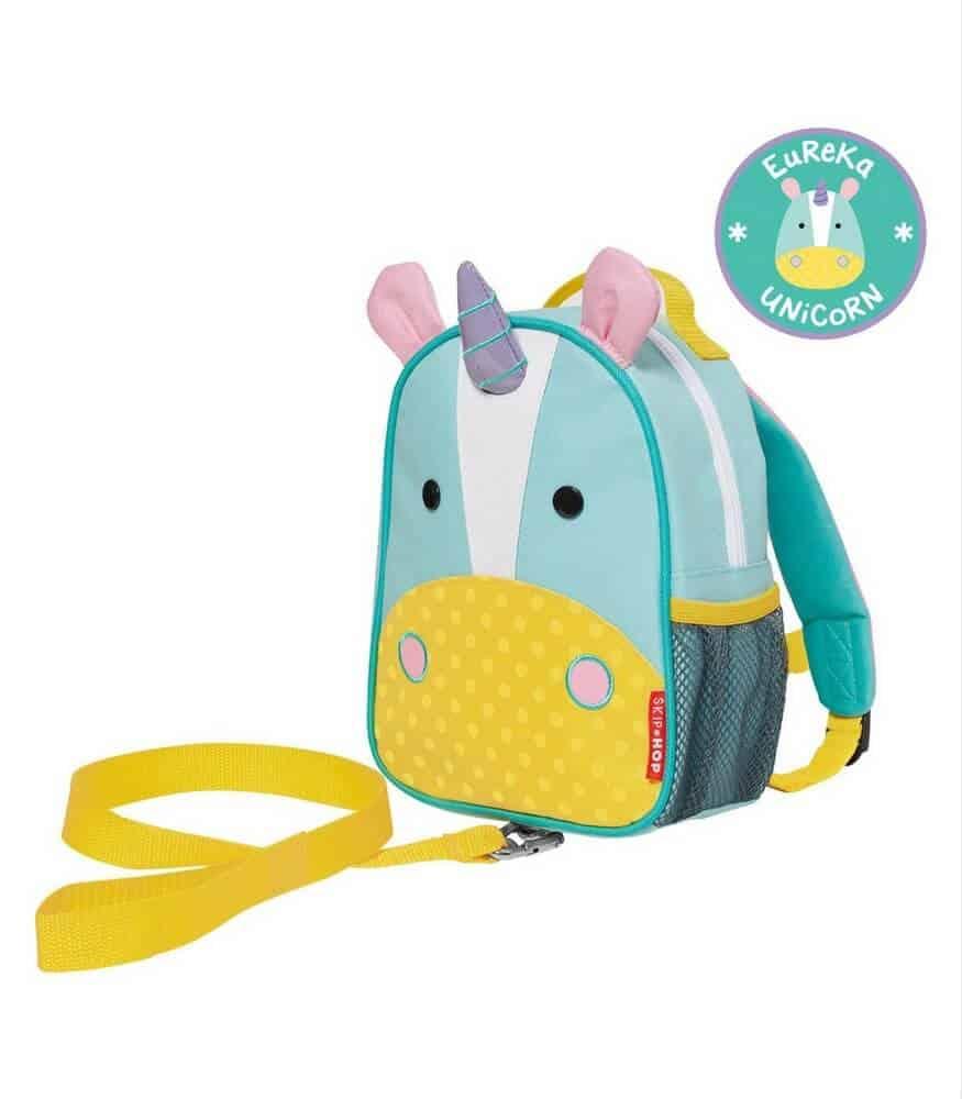 Skip Hop Zoo Emniyet Kemerli Sırt Çantası (Unicorn)
