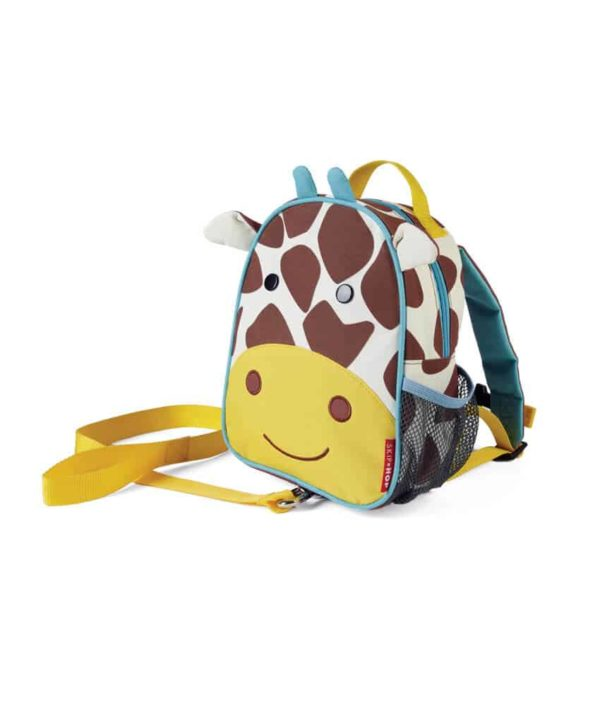 Skip Hop Zoo Emniyet Kemerli Sırt Çantası (Zürafa)