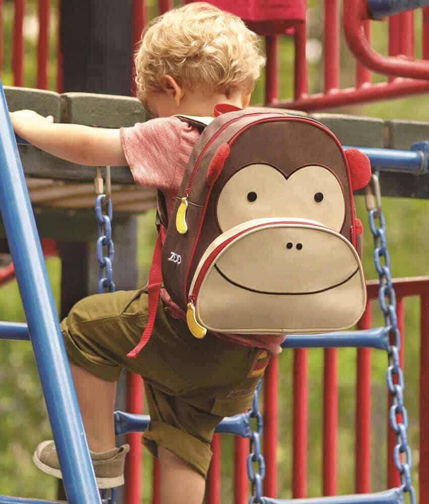 Skip Hop Sırt Çantası(Maymun)