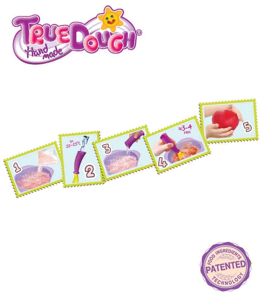 TrueDough Doğal Oyun Hamuru Temel Renkler Mega Paket