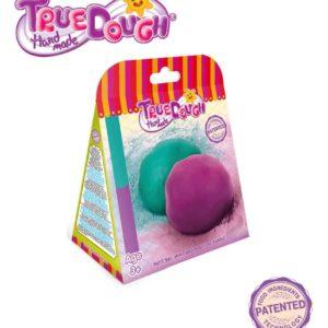 TrueDough Doğal Oyun Hamuru Yedek İkili Paket (Mint Yeşil & Lila)
