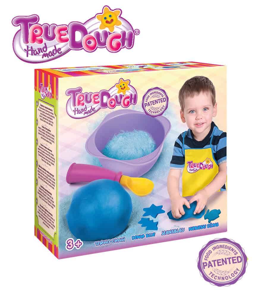 TrueDough Doğal Oyun Hamuru Tekli Paket (Mavi)