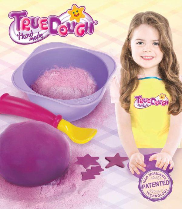 TrueDough Doğal Oyun Hamuru Tekli Paket (Lila)