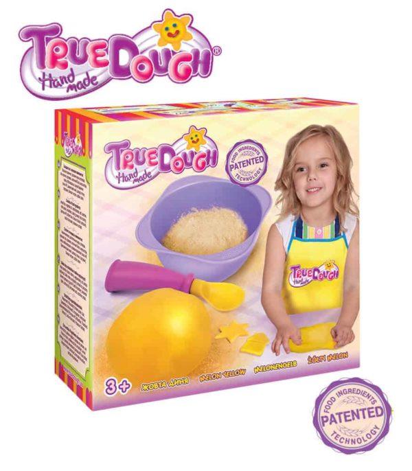 TrueDough Doğal Oyun Hamuru Tekli Paket (Sarı)