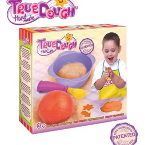 TrueDough Doğal Oyun Hamuru Tekli Paket (Turuncu)