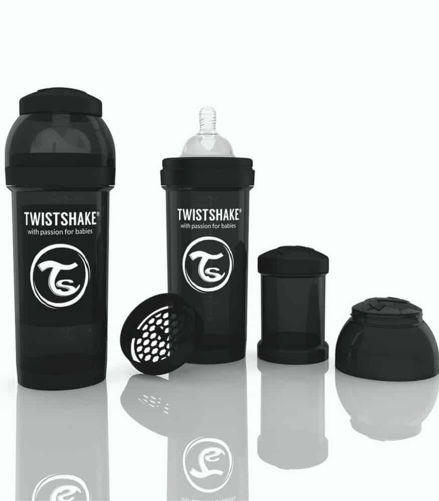 Twistshake biberon siyah 260 ml