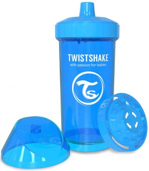 TwistShake Kid Cup Damlatmaz Suluk Mavi (360 ml)