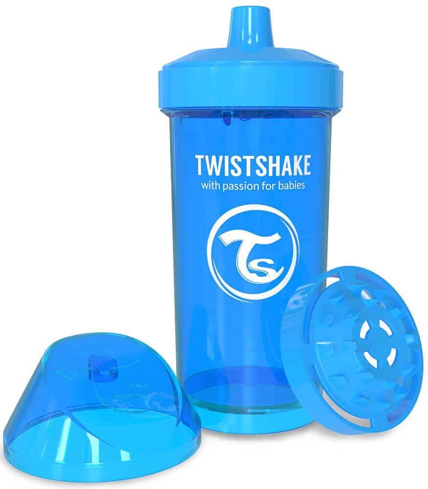 TwistShake Kid Cup Damlatmaz Suluk Mavi (360 ml)