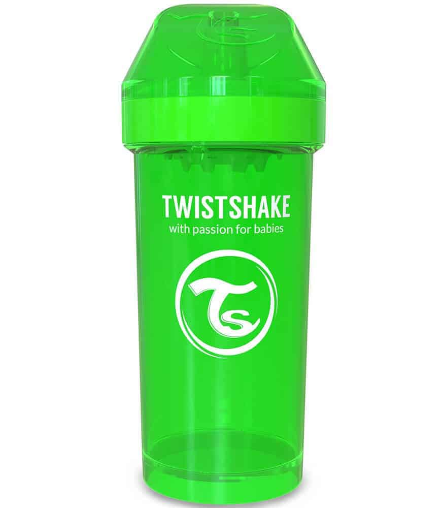 TwistShake Kid Cup Damlatmaz Suluk Yeşil (360 ml)