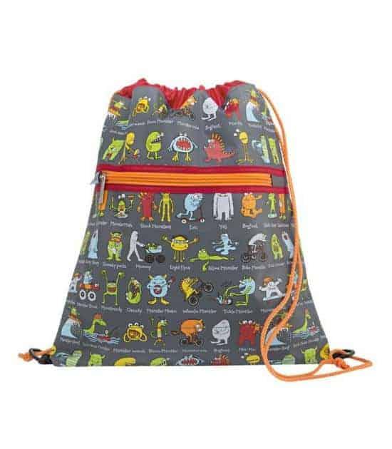 tyrrell katz büzgülü çok amaçlı çanta sevimli canavarlar